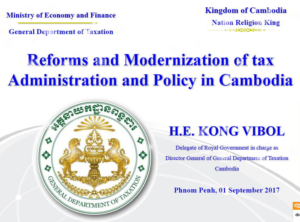 Reform and Modernization of Tax
